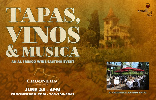 Tapas, Vinos and Musica on the Patio