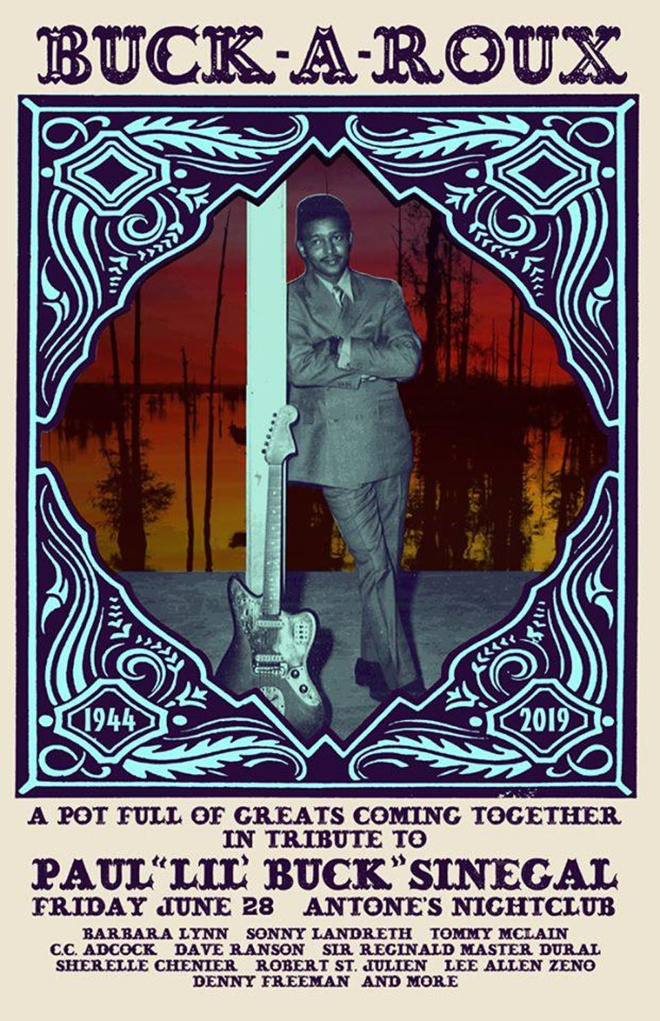 Lil' Buck Tribute: Barbara Lynn, Sonny Landreth, Tommy McLain & C.C. Adcock