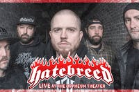 Hatebreed  25th Anniversary Show