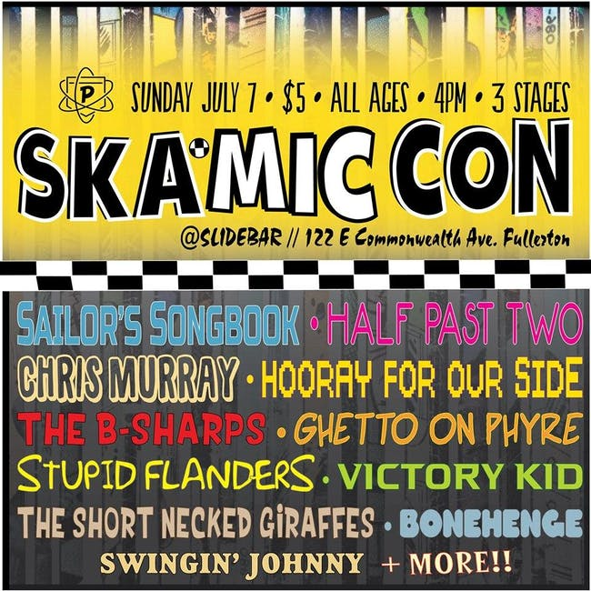 SKA-MiCCON – Tickets – The Slidebar Rock n Roll Kitchen