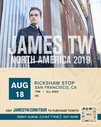 JAMES TW plus support tba