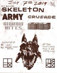 Skeleton/Army (TX) w/ Morbid Rites, ONE, Crusade