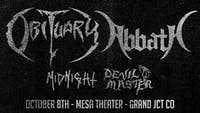 Obituary & Abbath at Mesa Theater