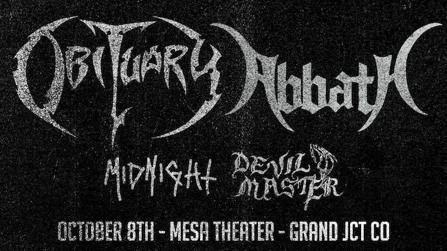 Obituary & Abbath at Mesa Theater