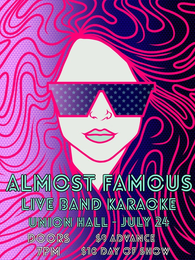 Almost Famous Live Band Karaoke!