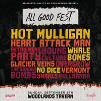 All Good Fest ft Hot Mulligan, Heart Attack Man + many more