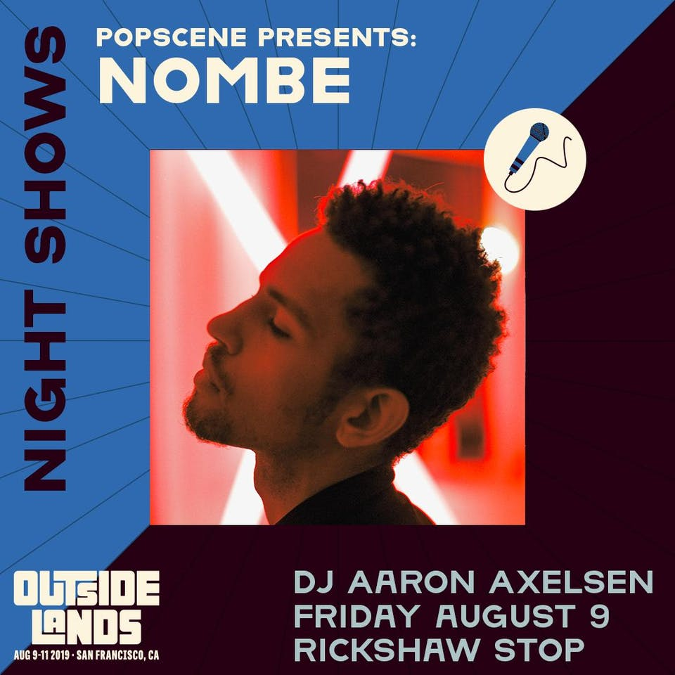 Outside Lands Night Show with NOMBE