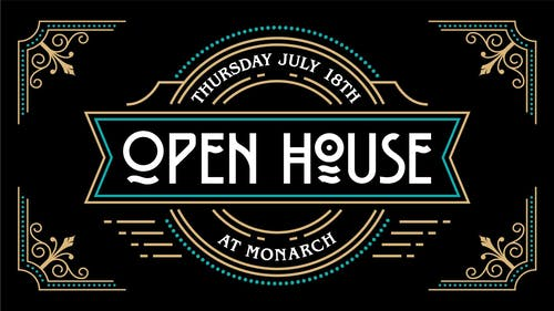 Open House: an extended Happy Hour featuring Open Decks