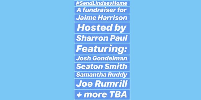 #SendLindseyHome: A Fundraiser for Jaime Harrison
