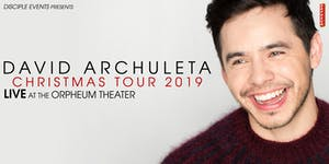 David Archuleta  Christmas Tour 2019