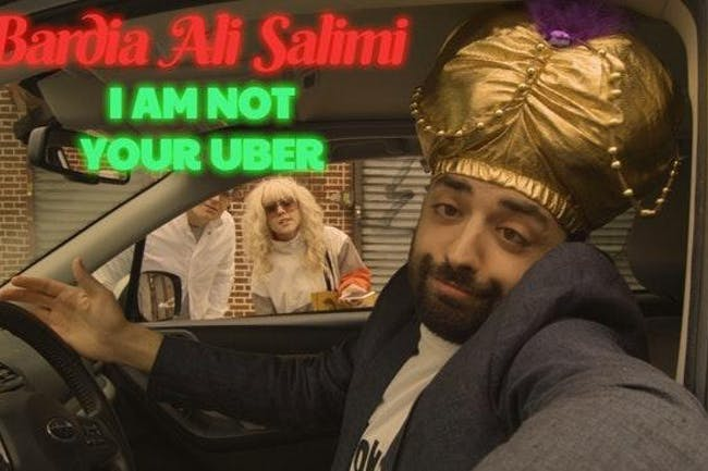 Bardia Ali Salimi: I Am Not Your Uber