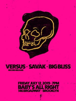 Versus with Savak, Big Bliss