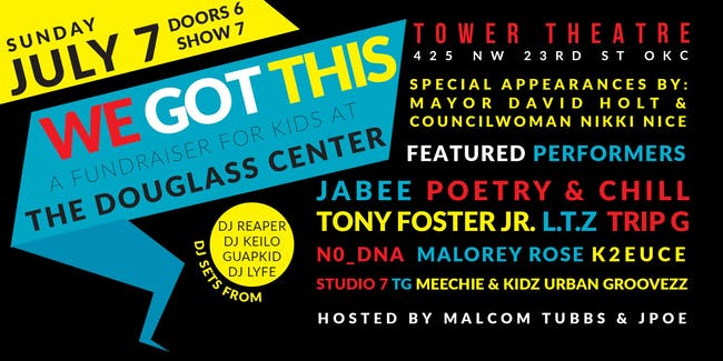 We Got This: A Fundraiser for Kids at The Douglass Center