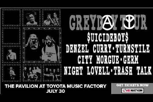 $UICIDEBOY$ Grey Day Tour