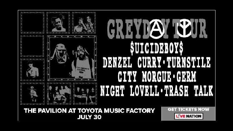$UICIDEBOY$ Grey Day Tour