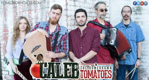 Caleb and The Homegrown Tomatoes with Nathan Perry Band