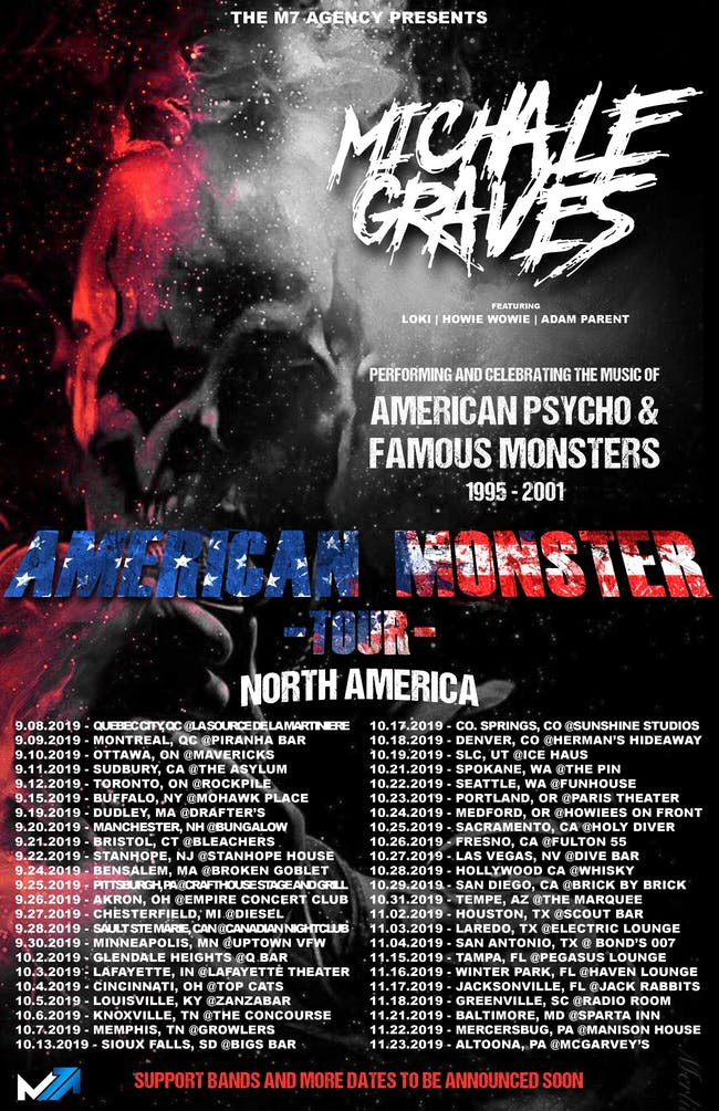 Michale Graves w/ special guests They Live, Bonefire