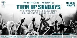 Turn Up Sundays