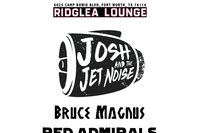 Josh & the Jet Noise, Bruce Magnus, Red Admirals, Guilt Trippers
