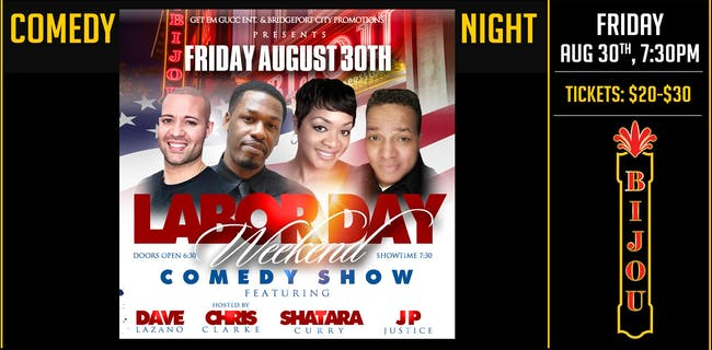 Comedy Night at the Bijou
