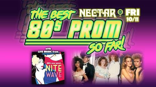 The Best 80s Prom Ever! (So Far) feat Nite Wave w/ guest Clive Farrington