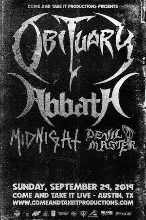 OBITUARY / ABBATH