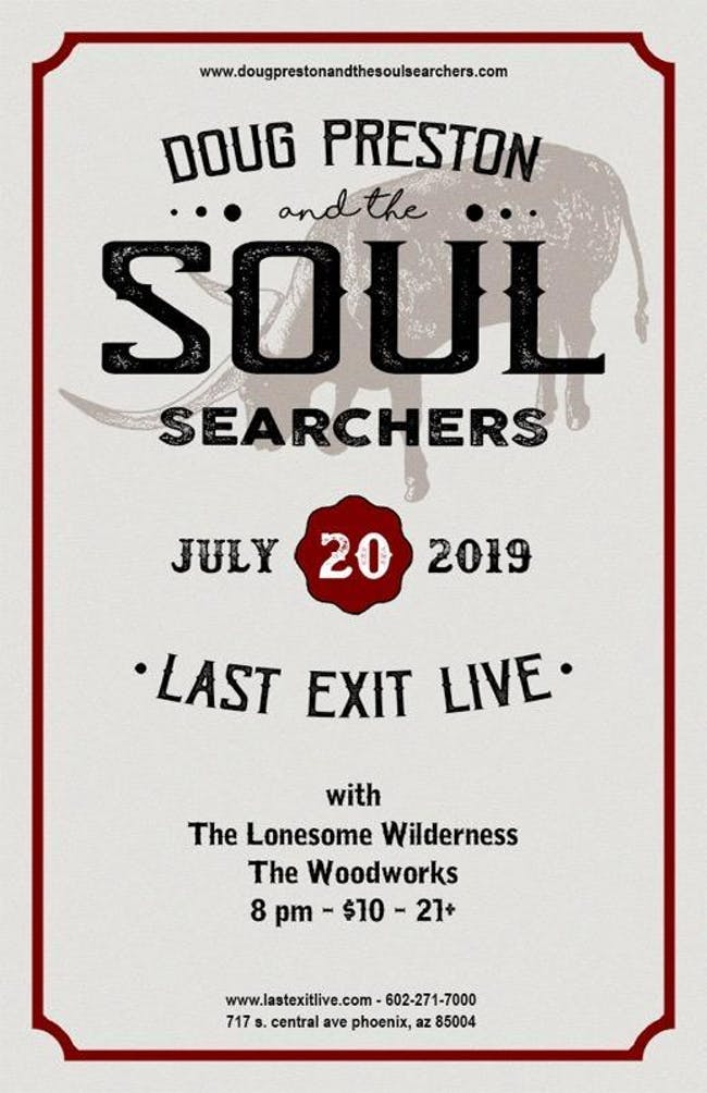 Doug Preston & the Soul Searchers, The Woodworks, Lonesome Wilderness