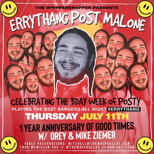 Errythang Post Malone Party
