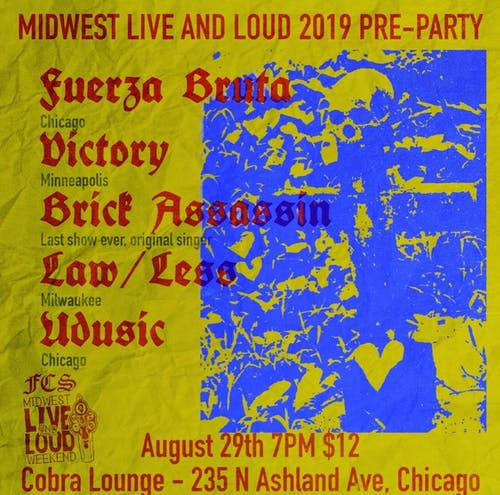 Midwest Live & Loud 2019 Pre Party