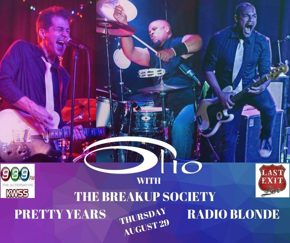 OLIO w/ The Breakup Society, Pretty Years, Radio Blonde