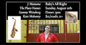 J. Mamana with The Place-Names, Sammy Weissberg, Kate Mohanty