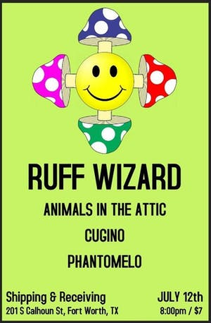 Ruff Wizards, Animals in the Attic, Cugino, Phantomelo