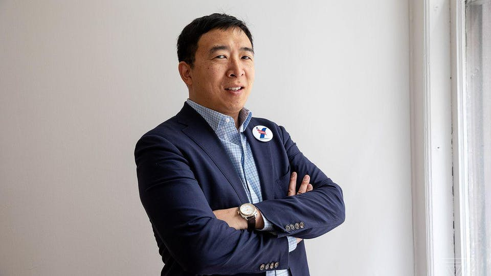 Meet the 2020 Candidate: Fundraiser for Andrew Yang at Manny's