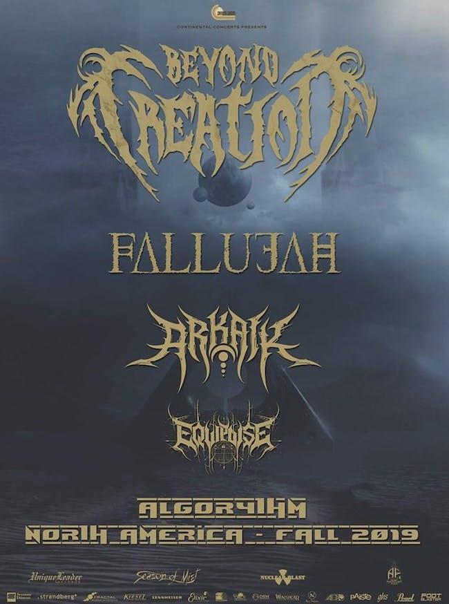 Beyond Creation /Fallujah /Arkaik / Equipoise /ApHelion