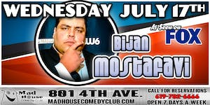 Comedian Bijan Mostafavi as seen on Laughs on Fox, Sirus XM Radio and more!