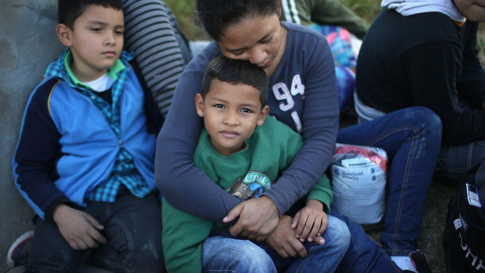 Backpack Giveaway for Migrant Families
