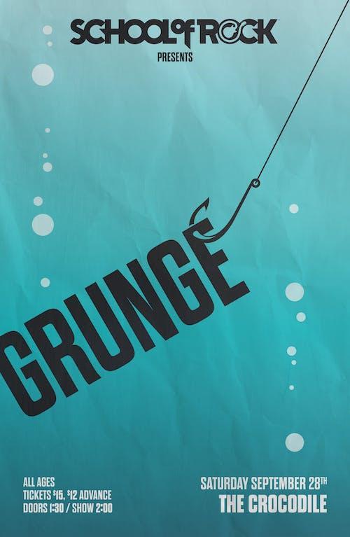 School of Rock Seattle Performs: GRUNGE