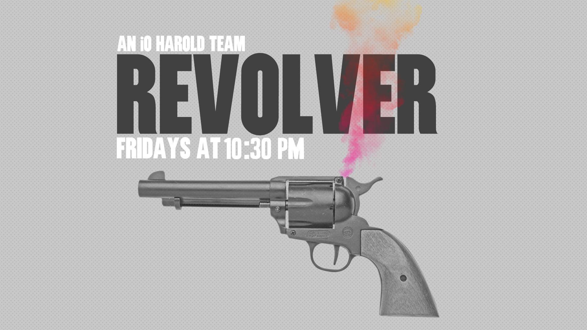 HAROLD NIGHT w/ Revolver & Harold Team Crocodile Nasties