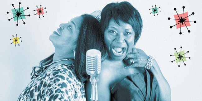 2 GIRLS & A BAND - Brenda Williams & Yvonne Allu 7p