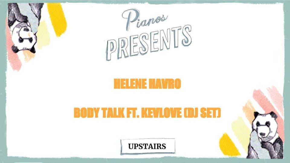 DJs Johan Ressle &  Helene Havro, Body Talk ft. Kevlove (FREE)