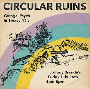 Friday HAPPY HOUR:  Circular Ruins with DJ Robert Botto