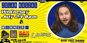 Comedian Zoltan Kaszas, Winner - San Diego's Funniest Person Contest!