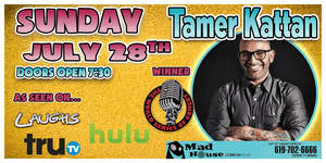 Comedian Tamer Kattan, Champion of the World Series of Comedy!