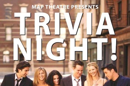Friends Trivia Night  @ The Back Bar