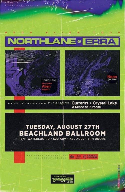 Northlane + Erra • Currents • Crystal Lake
