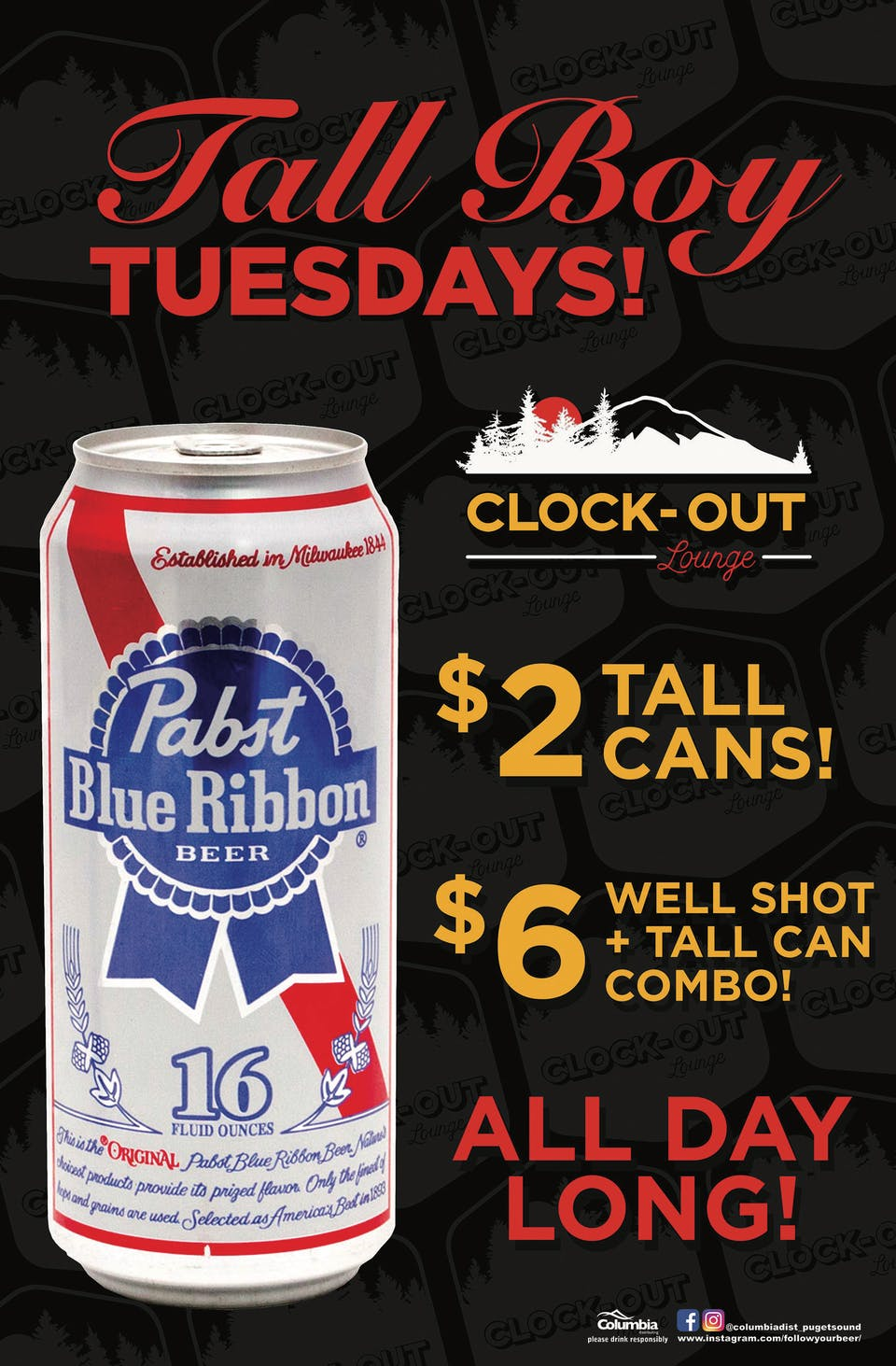 Tall Boy Tuesdays!