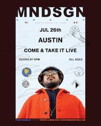 MNDSGN: 'Snaxx Tour' - Austin