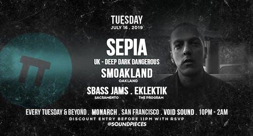 Sepia (UK) Smoakland SBass Jamz Eklektik — Soundpieces SF