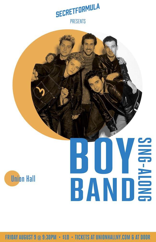 Boy Band Sing-Along!