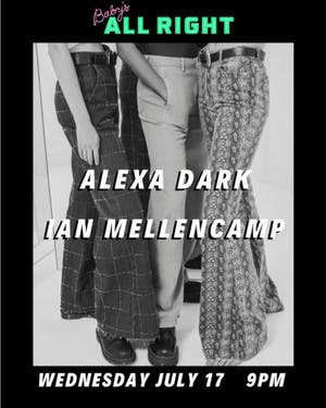 Alexa Dark with Ian Mellencamp